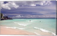 View of Dover Beach, Barbados, Caribbean Fine-Art Print