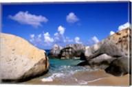 Boulders, Beach, Virgin Gorda, British Virgin Islands Fine-Art Print