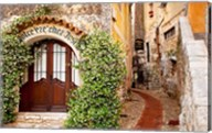 Jasmine covered entryway, Eze, Provence, France Fine-Art Print
