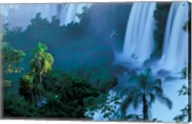 Iguacu National Park, Parana State, Iguacu Falls, Brazil Fine-Art Print