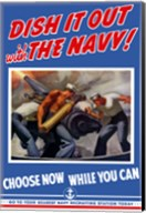 Dish it Out with the Navy! Fine-Art Print