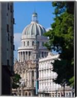 Capitol building, Havana, UNESCO World Heritage site, Cuba Fine-Art Print