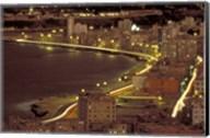 Malecon at Night, Havana, Cuba Fine-Art Print