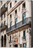 Cuba Havana, Plaza de San Francisco de Asis, Hotel Fine-Art Print