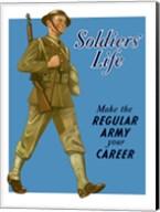 Soldiers' Life Fine-Art Print
