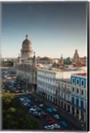 Cuba, Havana, Capitol Building, Parque Central Fine-Art Print