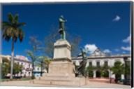 Cuba, Matanzas, Parque Libertad, Monument Fine-Art Print