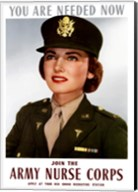 Female Officer of the US Army Medical Corps Fine-Art Print