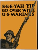 Go Over with U.S. Marines Fine-Art Print