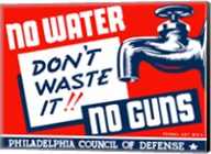 No Water, No Guns Fine-Art Print
