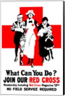 Join Our Red Cross Fine-Art Print