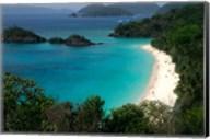 Trunk Bay Beach, St Johns, US Virgin Islands Fine-Art Print
