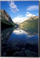 Victoria Glacier and Lake Louise, Banff National Park, Alberta, Canada Fine-Art Print