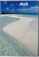 Beach of Half Moon Bay, Turks and Caicos Fine-Art Print