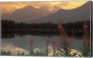 Alberta, Banff, Lake Herbert, Canadian Rockies Fine-Art Print