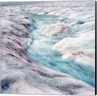 Athabasca Glacier, Columbia Icefields, Alberta Fine-Art Print