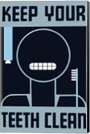 Keep Your Teeth Clean Fine-Art Print