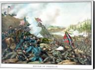 Battle of Franklin (vintage Civil War) Fine-Art Print