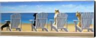 Beach Chair Tails II Fine-Art Print