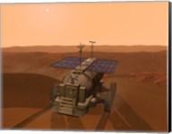 Artist's Concept of a Martian Rover Fine-Art Print