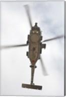 A US Navy MH-60R Seahawk in Flight Over Coroando, California Fine-Art Print