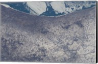 Satellite View of South Bend, Indiana Fine-Art Print