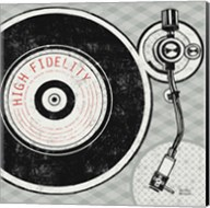 Vintage Analog Record Player Fine-Art Print