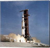 Apollo 11 Space Vehicle Taking off from Kennedy Space Center Fine-Art Print