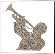 Trumpet Player (Greatest Jazz Tunes) Fine-Art Print