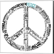 Peace (Different Languages) Fine-Art Print