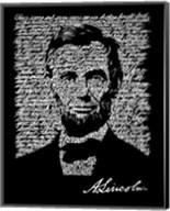 Abraham Lincoln (Gettysburg Address) Fine-Art Print