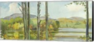 Lake Study (left) Fine-Art Print