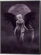 Dark Moonlight Angel Fine-Art Print