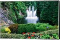 Butchart Gardens, Saanich, Vancouver Island, British Columbia Fine-Art Print