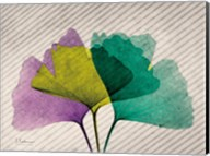 SoHo Diagonal Ginkos Fine-Art Print