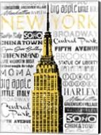 New York - Yellow Fine-Art Print