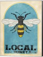 Retro Bee Fine-Art Print