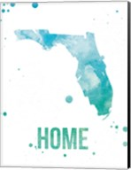 Florida Watercolor - Home Fine-Art Print