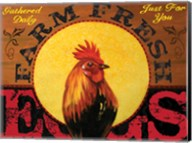 Farm to Table Rooster 01 Fine-Art Print
