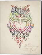 Owl Set 01 Fine-Art Print
