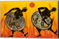 Two Dancing Women Fine-Art Print
