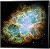 A Giant Hubble Mosaic of the Crab Nebula Fine-Art Print
