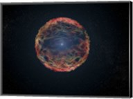 Artist's Impression of Supernova 1993J Fine-Art Print