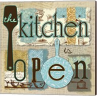 The Kitchen is Open Fine-Art Print