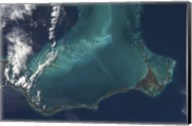 The Bahamas' Lengthy Narrow Eleuthra Island Fine-Art Print