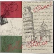 Vintage Travel Italia II Fine-Art Print