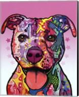 Cherish The Pitbull Fine-Art Print