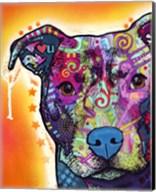 Heart U Pit Bull Fine-Art Print