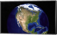 The Blue Marble Next Generation Earth Showing North America Fine-Art Print