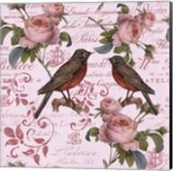 Vintage Rose Pink Pattern Fine-Art Print